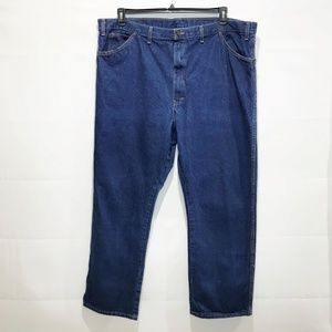 DICKIES MEN'S RELAXED FIT JEANS 48x32